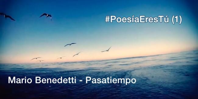 Pasatiempo, poema de Mario Benedetti